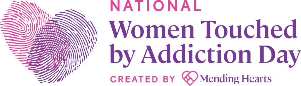 National Women Touched By Addiction Day Logo